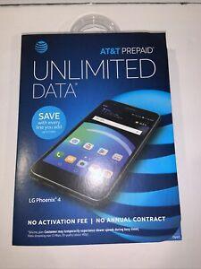 LG Phoenix 4 (At&t) Smartphone - Black