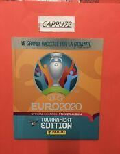 ALBUM CARTONATO  VUOTO EURO 2020 TOURNAMENT EDITION PANINI 2021 ED.ITALIA