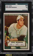 1952 Topps Gene Beardon #229 SGC 7 NRMT (PWCC)