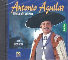 Antonio Aguilar Alma De Acero Con Mariachi  CD New Nuevo sealed