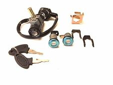 KEY LOCK SWITCH ASSEMBLY SET 25MM PIN LANCE VINTAGE HERITAGE ELECTRIC SCOOTERS