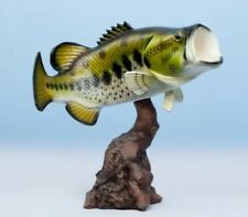 "Taxidermy Large Mouth Bass / Statue 20"" Stunning Fish Mount"