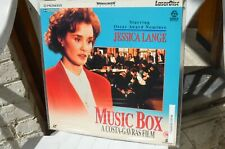 MUSIC BOX Jessica Lange a Costa Gavras - PAL LaserDisc 9 Pays FREE Mondial Relay