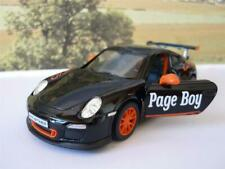 Wedding Day Gift Personalised Page Boy Usher Name Black Porsche 911 Toy Car New