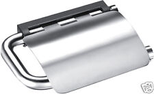 Toilet Paper Roll Holder W/Flap Glossy 316 Marine Stainless Steel (Best Quality)