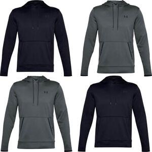 Under Armour UA Mens Hoodie Sweatshirt Tracksuit Top Solid Hoody Pockets