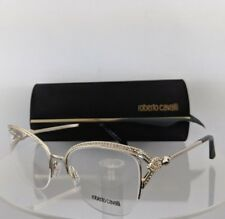 a6747b6d75 Brand New Authentic Roberto Cavalli Eyeglasses Forte 5054 032 53mm Gold  Frame