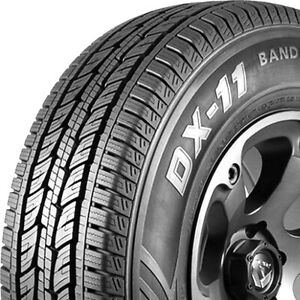 Tire Delinte DX-11 Bandit H/T LT 265/70R18 Load E 10 Ply Light Truck