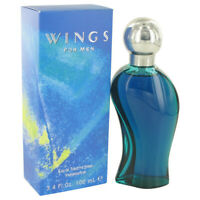 WINGS by Giorgio Beverly Hills 3.4 oz EDT Cologne Spray for Men New in Box