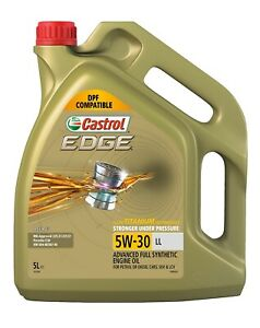 Castrol EDGE Full Synthetic 5W-30 Engine Oil 5L 3413348 fits BMW 5 Series 520...