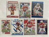 7 card Nick Bosa RC Lot 49ers Rookie Cards Ohio State