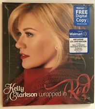 Kelly Clarkson Wrapped In Red Walmart exclusive CD & DVD NEW