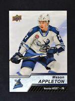 2018-19 18-19 UD Upper Deck AHL Base Short Print #120 Mason Appleton SP