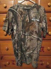 Mens Team REALTREE #24 Jeff Gordon Nascar SS Camoflauge T-Shirt Sz L Nw/oT