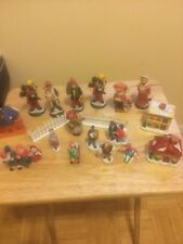 Vintage Lot Of 17 Old Different Figurines