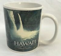 Island Heritage 2005 Hawaiian Waterfalls Mug Aloha Honolulu Coffee Tea Cup