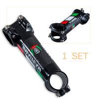 T800 MTB Road Racing Carbon Fiber Al Bicycle Bike Handlebar Stem 80-110mm 28.6mm