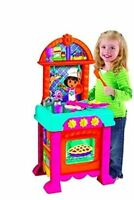 Fisher Price Dora Kitchen Cook With Me Cooking Play set 2+ Years + Accessories