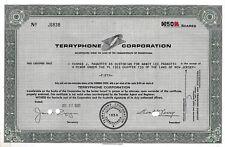 Terryphone Corporation, Pennsylvania, 1981 (50 Shares)
