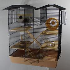 XXL Hamsterburg Hamsterkäfig mit gigantischem Zubehörpaket Mäusekäfig Maus