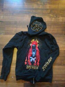 Black Metal Urfaust Zipper Van Records Gr. S