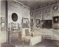 Parigi Museo Carnavalet Sala Debucourt Vintage Albume-Albume, Verso 1885
