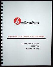 Hallicrafters SX-146 SX146 Receiver Manual HAM