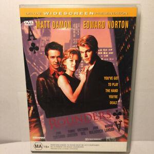 Rounders  (DVD, 1998) Region 4 PAL