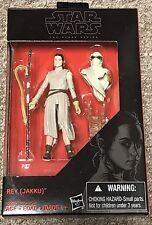 """Star Wars 3 3/4"""" Black Series Rey (Jakku) TFA Exclusive Walmart New"""