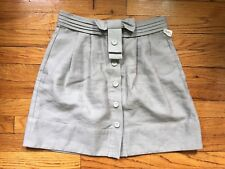 See By Chloe Grey Bow Skirt Size US 4 I 40