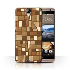 STUFF4 Back Case/Cover/Skin for HTC One E9/E9+/Plus/Mosaic Tiles