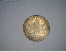 1859 3c Three Cent Silver ( 55-341 5m/1 )