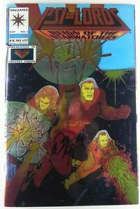 Valiant PSI-LORDS (1994) #1 Signed by Bob Layton w/COA NM Ships FREE!