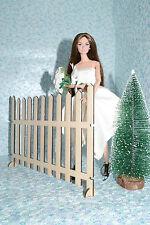 fence for Dolls 1/6 dollhouse miniature Dolls FR Barbie 12 inch NEW! Diorama V2