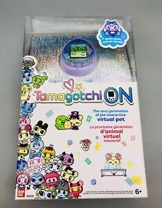 Tamagotchi On Wonder Garden Purple Electronic Virtual Digital Pet Lavender - New