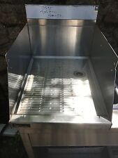 NEW Perlick UnderBar Drainboard without Legs 18.25 x 24 For Deep Drying Glasses