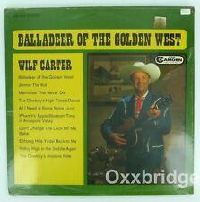WILF CARTER SEALED LP Balladeer Of The Golden West ORIGINAL Country Vinyl RCA