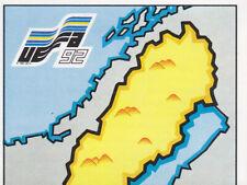 Panini - UEFA Euro 1992 Sweden - Sweden Map - Part 1 - # 4