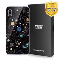 For Samsung Galaxy A10e Phone Case TJS Juno Universe +Tempered Glass