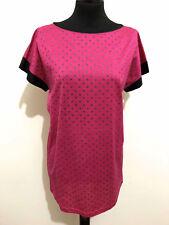 UNGARO PARIS shirt T-Shirt Woman Cotton Polka dot Sz. M - 44