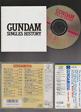 CD GUNDAM SINGLES HISTORY ANIME ORIGINAL JAPAN.