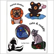 Stained Glass Pattern Book: Cute and Cuddly by Mari Stein