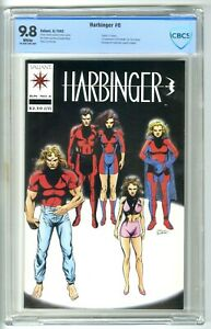 HARBINGER #6 6/1992 CBCS 9.8 NM/MT WITH COUPON VALIANT NOT CGC DEATH of TORQUE