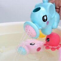 Cartoon ABS Children Kid Gift Water Spray Flower Sprinkler Bath Toy Swimming