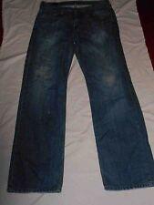 VINTAGE TOMMY HILFIGER 32Waist 34 Inside Leg CLASSIC MENS FADED BLUE JEANS#130