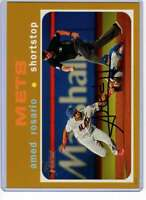 Amed Rosario 2020 Topps Heritage 5x7 Gold #355 /10 Mets