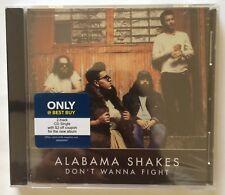 Alabama Shakes 'Don't Wanna Fight' 2 Track Single CD (2015) Brand New Sealed HTF