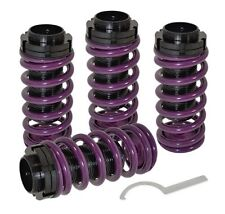 92-95 Del Sol Height Adjustable Lowering Coilover Spring Scale Sleeve Purple