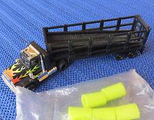 Per h0 CAR RACING modello ferroviario -- TYCO Truck con rimorchio