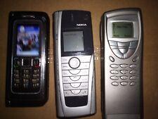 1 Nokia E90/ 1 Nokia 9500/ 1 Nokia 9210i Communicator (All 3 Unlocked)See 6 Pics